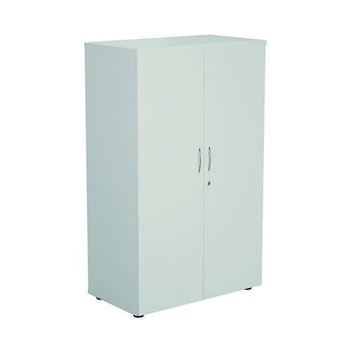 FF First Wooden Storage Cupboard 1600mm White WDS1645CPWH