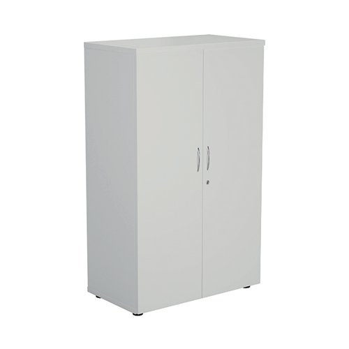 FF First Wooden Storage Cupboard 1600mm White KF820956