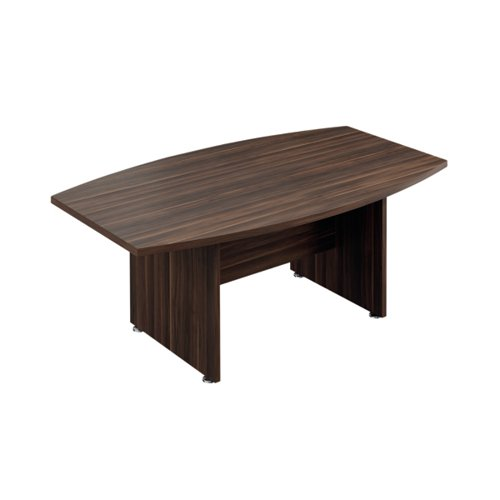 Avior Executive Boardroom Meeting Table 1800mm Dark Walnut TR1810BTDW