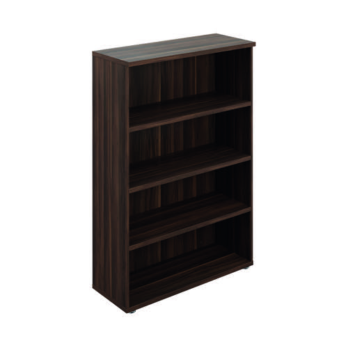Avior Executive Bookcase 1560mm Dark Walnut TR1640DW