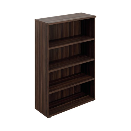 Avior Executive Bookcase 1560mm Dark Walnut KF821946