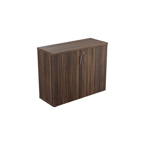 Avior Executive Cupboard 800mm Dark Walnut KF821960