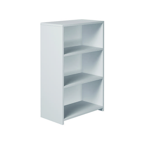 Serrion Premium Bookcase 1200mm White EP1200BCWH