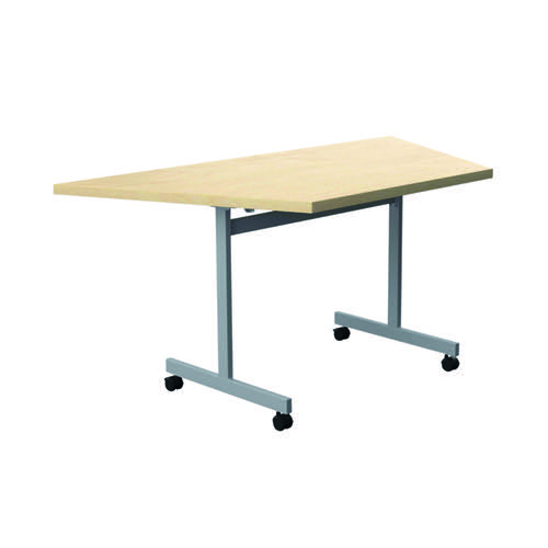 Jemini Trap Tilt Table 1600 x 800mm Maple/Silver KF822561