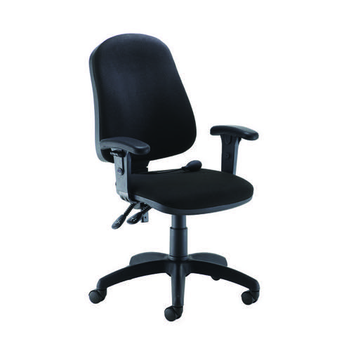 Jemini Intro Posture Chair with Arms Black KF822592