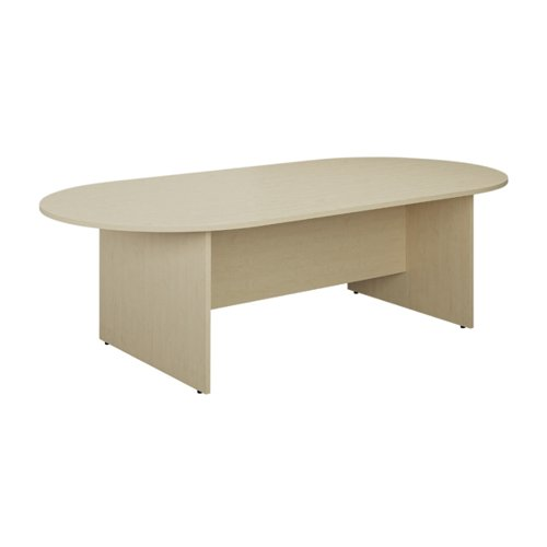 Jemini D-End Meeting Table 1800mm Maple TK1810DEMA