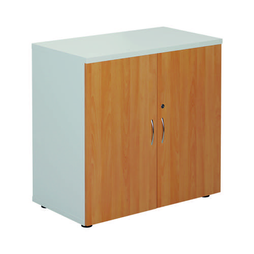 Jemini 800 Cupboard White/Beech KF822684