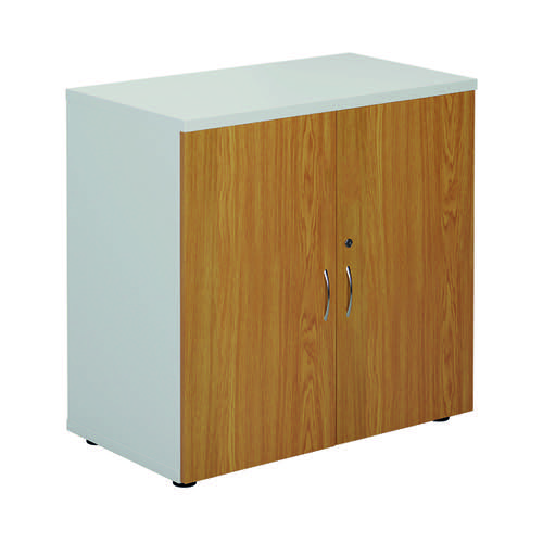 Jemini 800 Cupboard White/Nova Oak KF822721