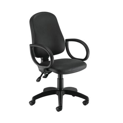 First Calypso Operator Chair Fixed Arms Polyurethane KF822905
