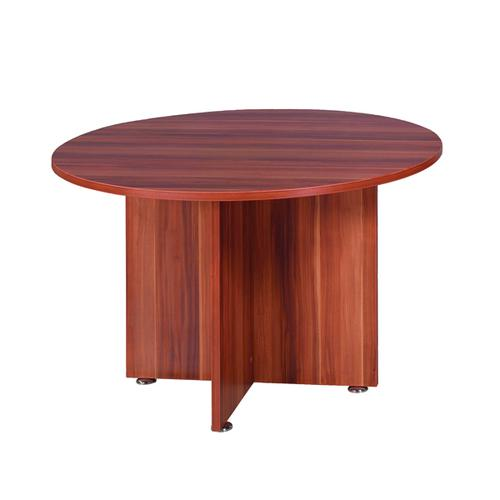 Avior Cherry 1200mm Round Meeting Table (Dimensions: Diameter 1200mm x H750mm) KF838267