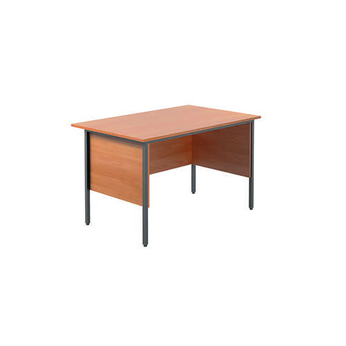 Serrion Bavarian Beech 1200mm Four Leg Desk KF838367