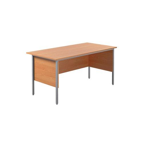 Serrion Bavarian Beech 1500mm Four Leg Desk KF838369
