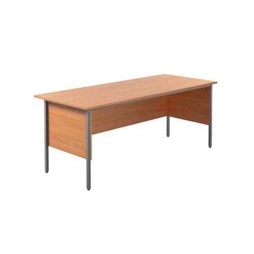 Serrion Rectangular 4 Leg Desk 1800x750x730mm Bavarian Beech KF838754