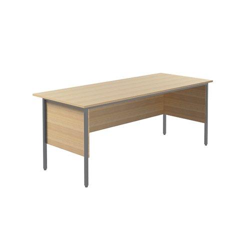 Serrion Rectangular 4 Leg Desk 1800x750x730mm Ferrera Oak KF838789