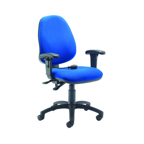 Jemini Intro Posture Chairs with Arms Blue KF838995