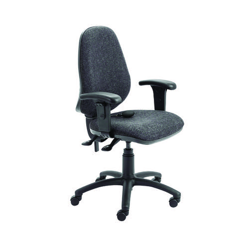FR First High Back Posture Chair w/Adjustable Arms Charcoal KF839326