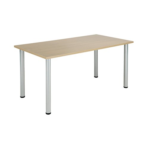 Jemini Maple 1600x800mm Rectangular Meeting Table KF840181