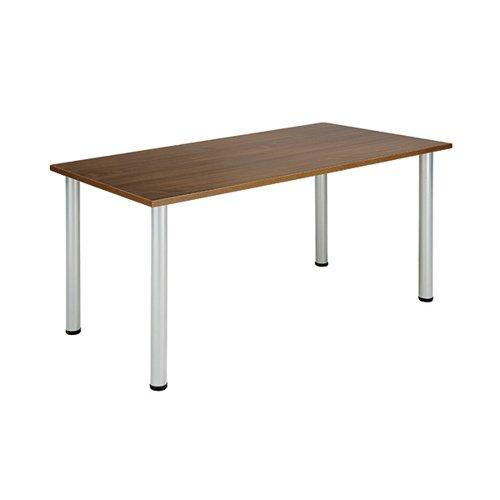 Jemini Walnut 1200x800mm Rectangular Meeting Table KF840190