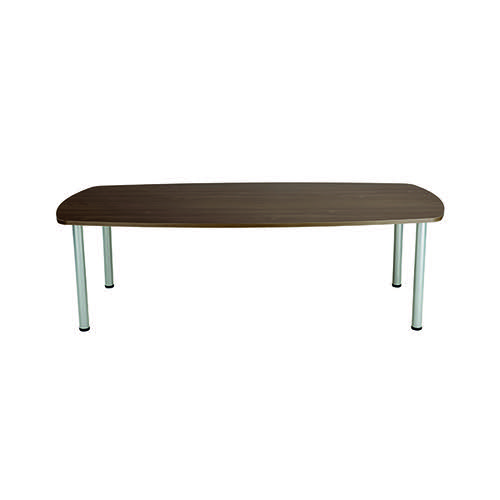 Jemini Walnut 1800mm Boardroom Table (Dimensions: W1800 x D1000 x H730mm) KF840194