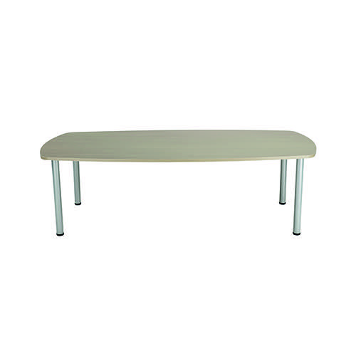 Jemini Grey Oak 1800mm Boardroom Table KF840199