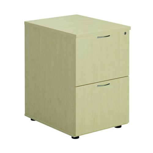 First Filing Cabinet 2 Drawer Maple FRTES2FCMA
