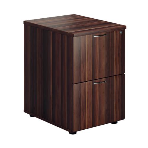 First Filing Cabinet 2 Drawer Dark Walnut FRTES2FCDW