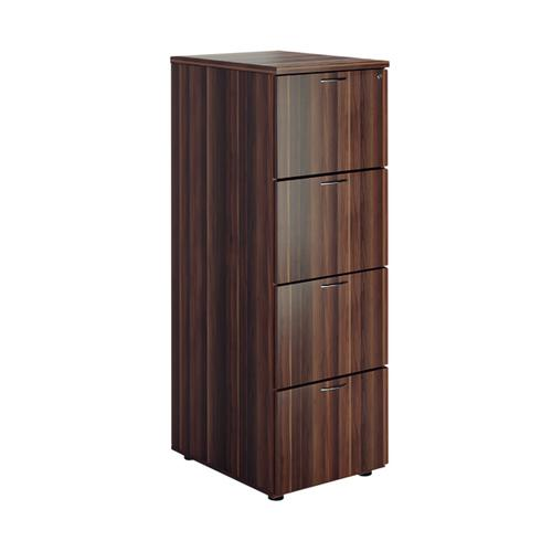 First Filing Cabinet 4 Drawer Dark Walnut FRTES4FCDW