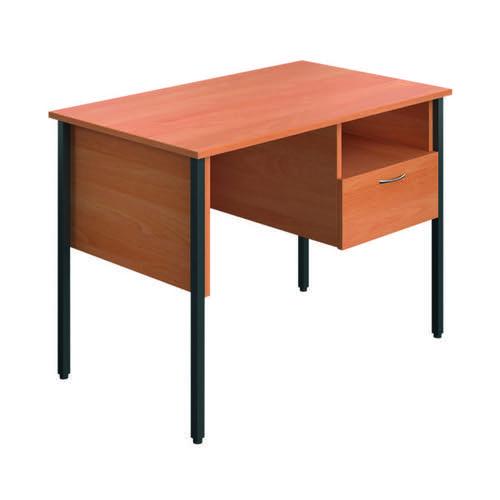 Eco 18 Homework Desk Four Leg Beech ECS1000FLBE