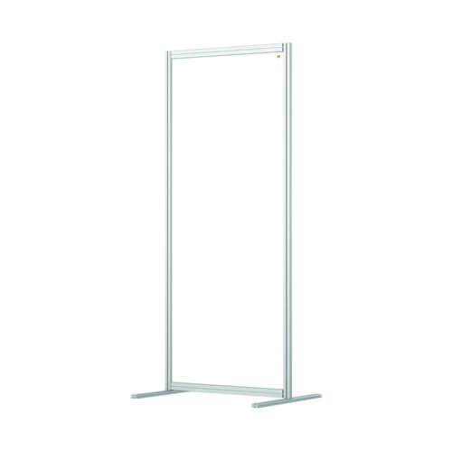 Nobo Acrylic Modular Room Divider 800 x 1800mm Clear KF90383
