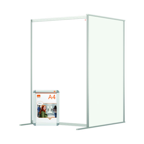 Jemini Acrylic Modular RoomDivider Extension 1200x1800mm Clear KF90386