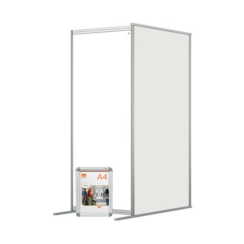 Jemini Acrylic Modular Room Divider Extension 800x1800mm Clear KF90387
