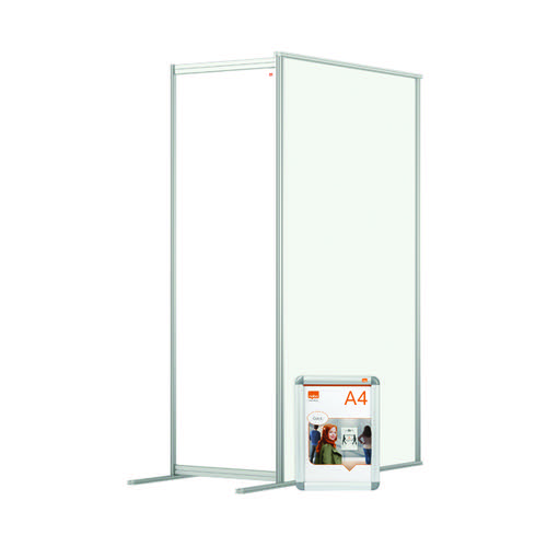 Jemini Acrylic Modular Room Divider Extension 600x1800mm Clear KF90388