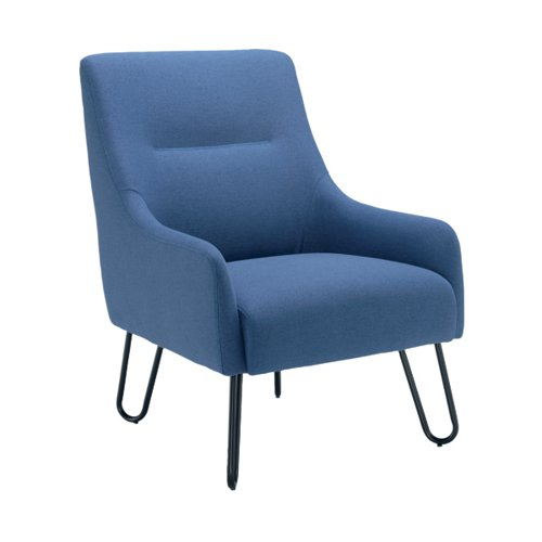 Jemini Reception Armchair Navy KF90468