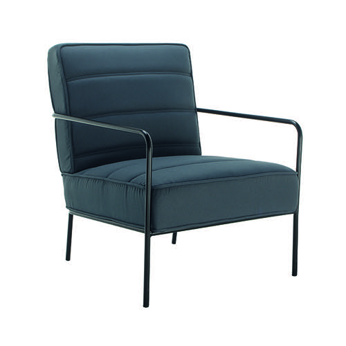 Jemini Reception Wire Frame Armchair Grey OF0704GR