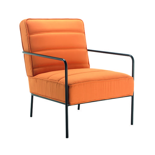 Jemini Reception Wire Frame Armchair Mustard OF0704MU