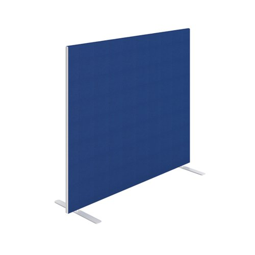 Jemini Floor Standing Screen 1400 x 1200mm Blue KF90496