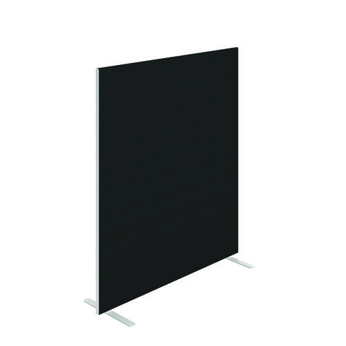 Jemini Floor Standing Screen 1400 x 1600mm Black FST1416SBK