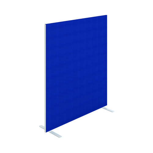 Jemini Floor Standing Screen 1400 x 1600mm Blue KF90498
