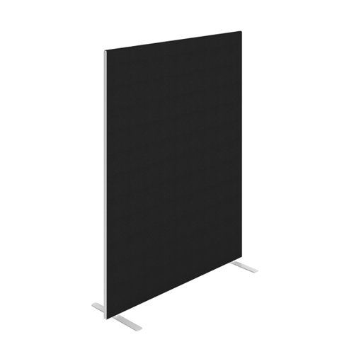 Jemini Floor Standing Screen 1400 x 1800mm Black FST1418SBK