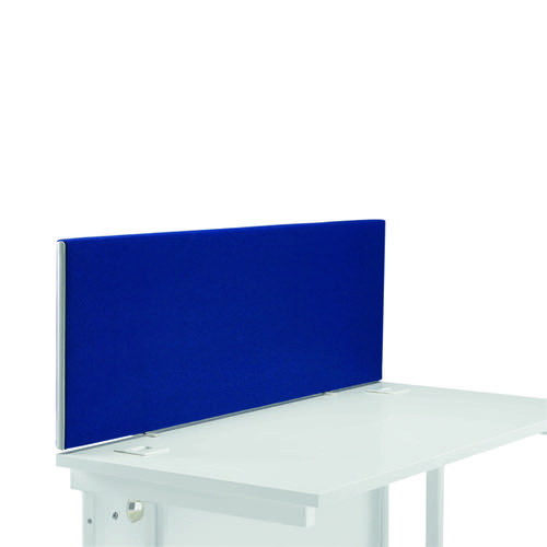 Jemini Straight Desk Screen 1400mm Blue DMS1400SRB