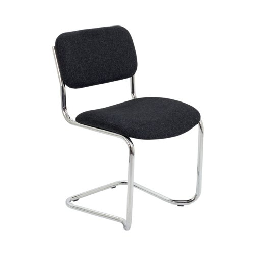 Jemini Summit Meeting Chair Charcoal KF90507