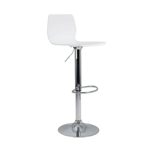 Jemini Stork High Stool White KF90509
