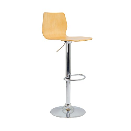 Jemini Stork High Stool Beech KF90511