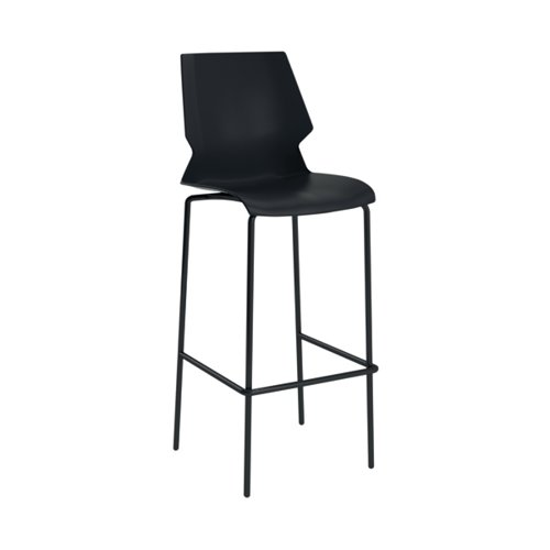Jemini Uni High Stool Black/Grey  KF90520