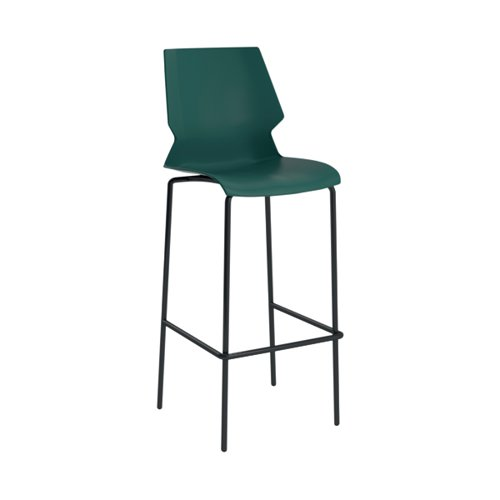Jemini Uni High Stool Green/Grey KF90522