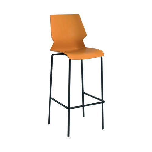 Jemini Uni High Stool Yellow/Grey KF90523