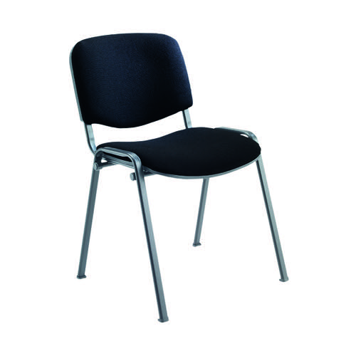 Jemini Ultra Multipurpose Stacker Chair Black KF90552
