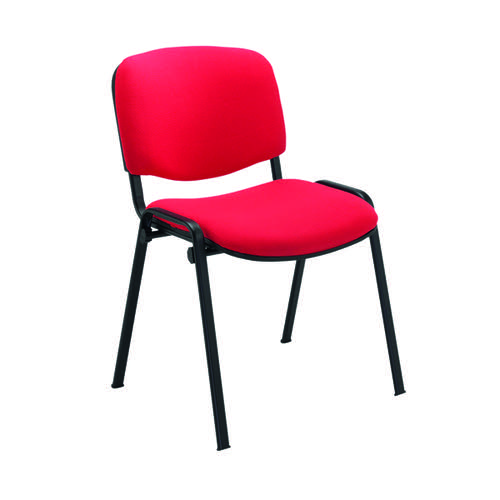 Jemini Ultra Multipurpose Stacker Chair Red KF90554