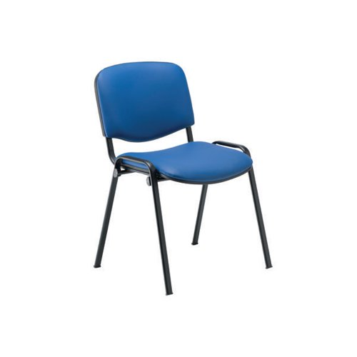Jemini Ultra Multipurpose Stacker Chair Blue Polyurethane KF90556