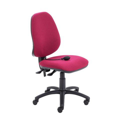 Jemini Intro Posture Chair Claret KF90584